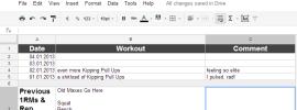 2013 Training Log Spreadsheet