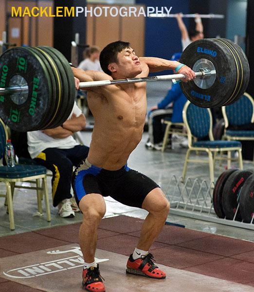 Lu Xiaojun Snatch High Pull Photo All Things Gym