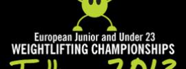 2013 European Junior U23 Weightlifting Championships Logo