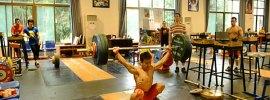 Wu Jingbiao 143kg Snatch