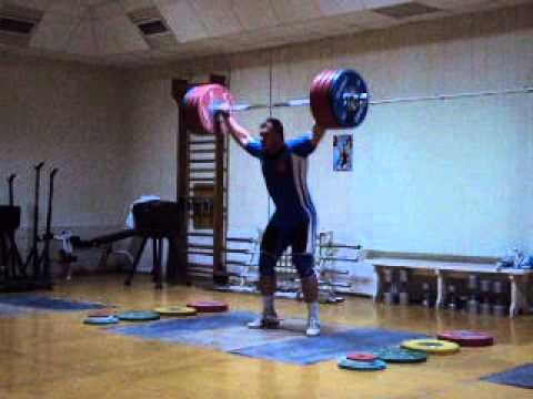 Dmitry Lapikov 215kg Snatch + 251kg Clean & Jerk - All ...
