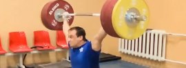 Ilya Ilyin 205kg Snatch off Blocks