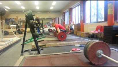 317 5kg Snatch Grip Deadlift Marshall White - All Things Gym
