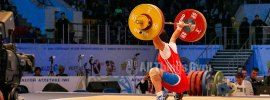 Jo Pok Hyang (PRK) 108kg Snatch Toe Save Photo + Gif