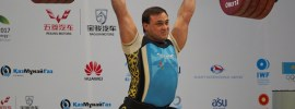 Ilya Ilyin 242kg Clean and Jerk World Record Almaty 2014
