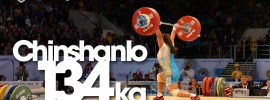 Zulfiya Chinshanlo 133 & 134kg Clean and Jerk World Record
