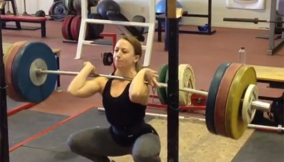 Rob Adell 170 kg Snatch at Average Broz Gym - All Things Gym