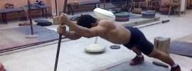 mohamed ehab stick core exercise