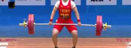 Li Yajun 104kg Snatch 2016 Chinese National Weightlifting Championships