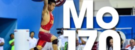 Mo Yongxiang 137kg Snatch 170kg Clean and Jerk 2016 Junior World Weightlifting Championships