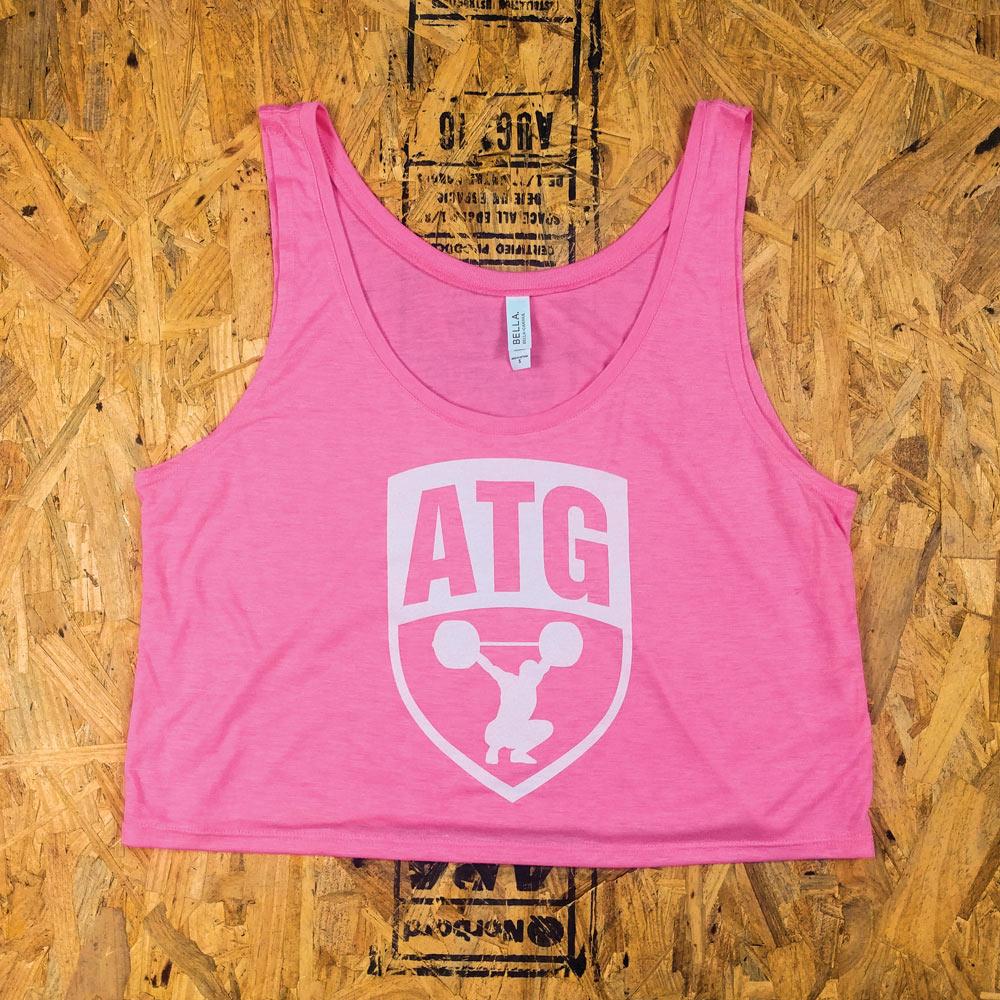ATG Crop Pink