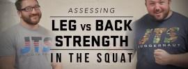Leg vs Back Strength in the Squat