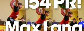 Max Lang 154kg Snatch PR!