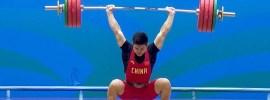 Shi-Zhiyong-198 clean and squat jerk
