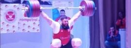 Lasha Talakhadze 220kg Snatch at 2017 Georgian Nationals