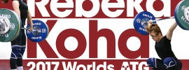 Rebeka Koha Training Hall 2017 World Weightlifting Championships