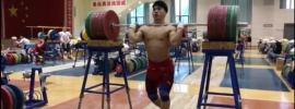 tian tao 280kg front squat