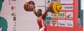 yeison lopez 208 clean and jerk
