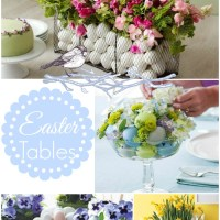 Easter Ideas...the table