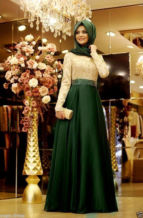 Hijab fashion guide 2017 | maxi dress image 2