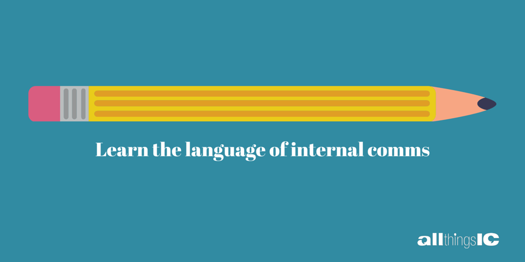 IC is for internal communication…