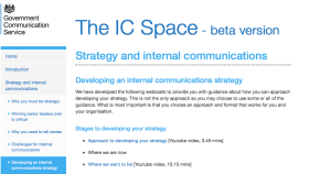 Strategy and internal communication