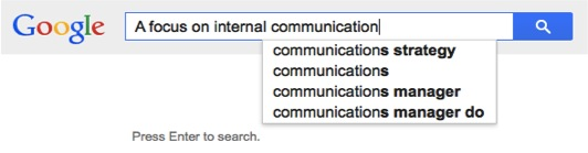 How to use Google for internal communication