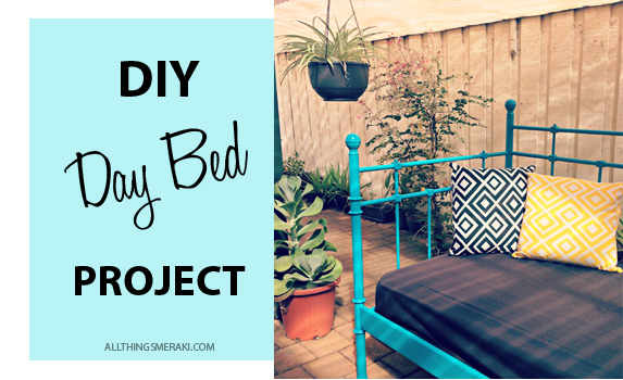DIY Day Bed Project