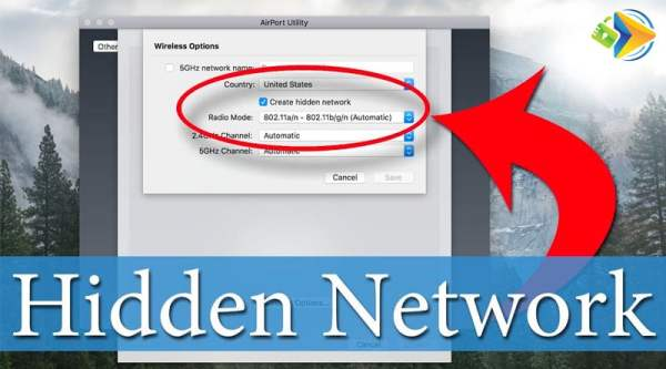 Guide for how to create a hidden WiFi network on your router