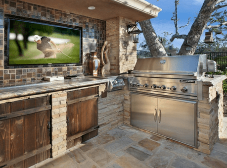 outdoor kitchen modules white knobs for cabinets modular canadian stone industries earthcore isopanel kitchens
