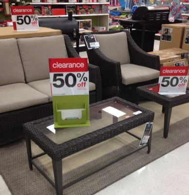target patio furniture accessories