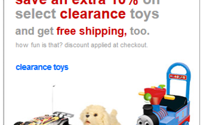 Target Daily Deal Extra 10 Off Clearance Toys Free