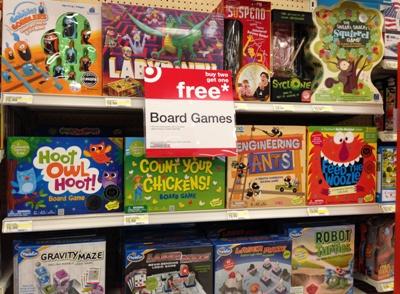 Target Board Games Buy 2 Get 1 FREE All Things Target