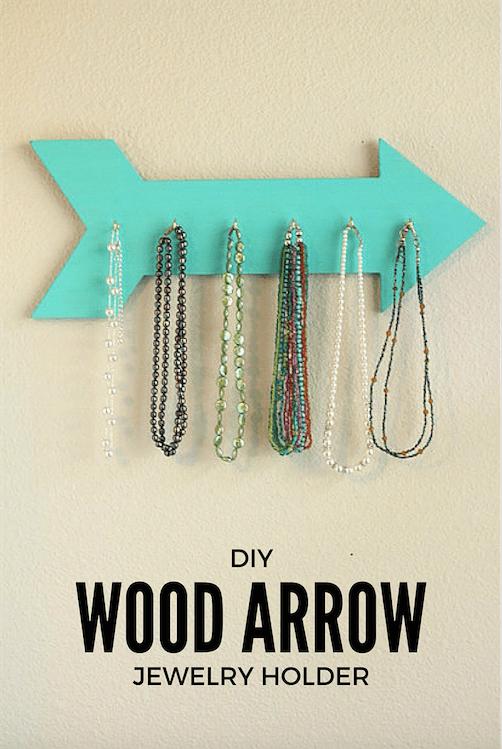 Diy Wood Jewelry Holder