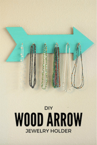 Diy Wood Jewelry Holder