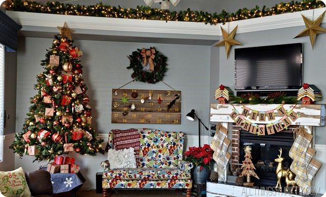 Christmas Mantel Www Decor Com