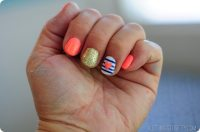 Even a DIYer can have cute nails!