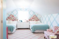 Girls Tween Bedroom Makeover {Gold, Turquoise, Magenta ...
