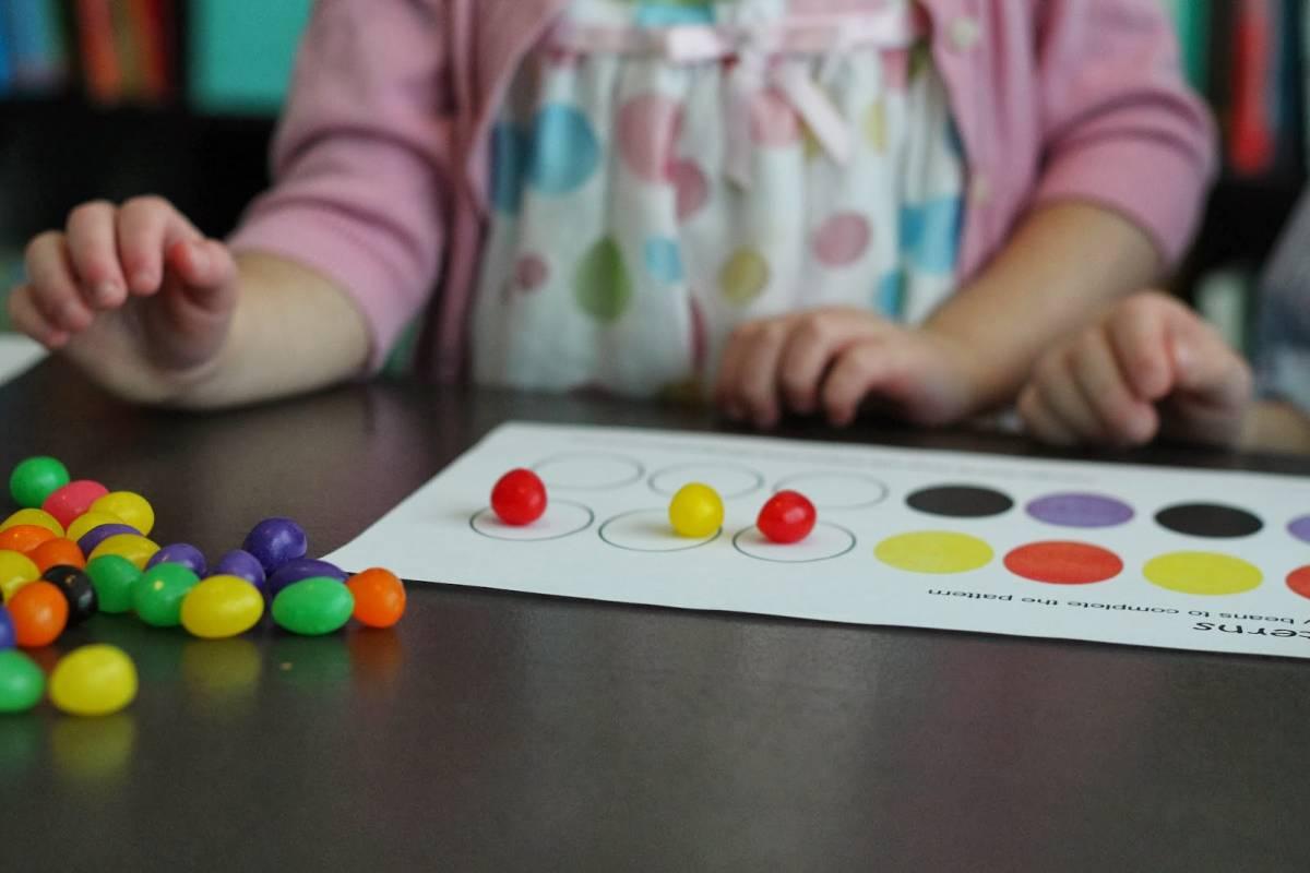 National Jelly Bean Day Preschool Activity
