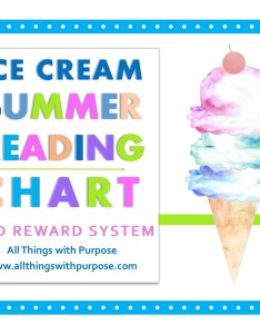 Ice cream reading chart also summer chart and reward system rh allthingswithpurpose