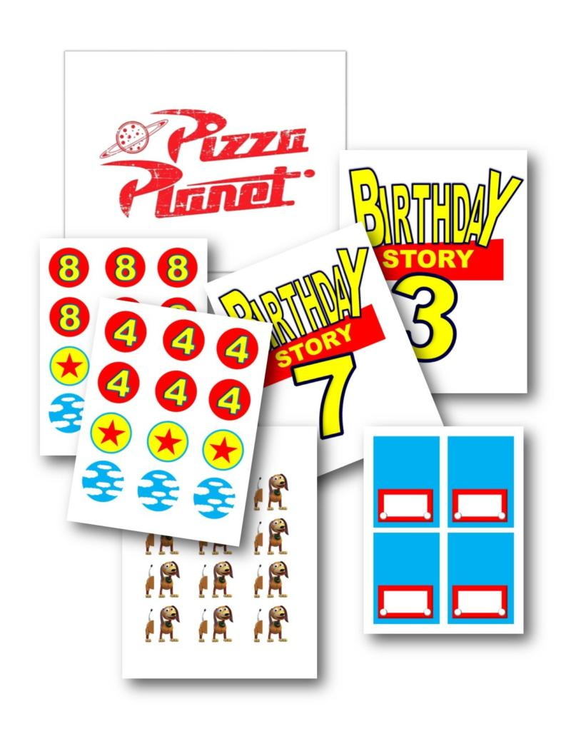 Toy Story 4 Party Theme And Free Printable Party Pack
