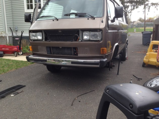 The Vanagon was only home for a week before I had to tackle my first job: speedometer cable replacement.