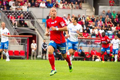 Lindström spelade sina första minuter i år under dagens match.