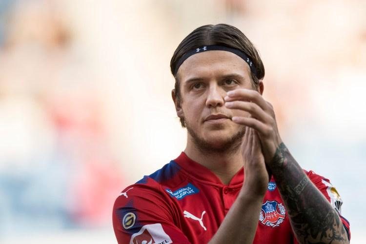 """Alexander Achinioti Jönsson: """"Någon gång i framtiden vill jag spela för HIF igen"""""""