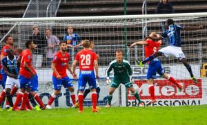 Pär Hansson gjorde åter en bra match Foto: Samone Klinteberg