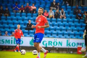 Matchen mot mff blev Victor Pàlssons sista i den röda tröjan Foto: Samone Klinteberg