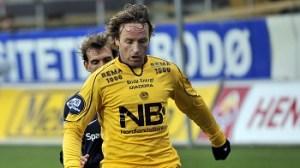 Stig Johansen under sitt sista år som spelare I Bodö/Glimt