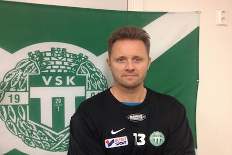 Peter Markstedt i tränarrummet på Swedbank Park Foto: Leif Berg, Västerås SK