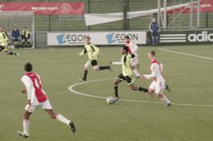 Förra året mot Ghana-laget Ajax