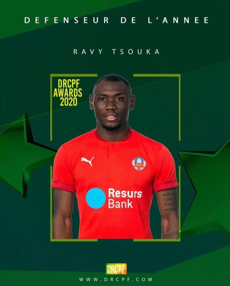 Tsouka utsedd till Kongos bästa försvarare